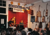 Tríona, Maighread & Mícheál at the Artichoke Music Sessions, Portland, Oregon in 1993